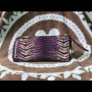 Handbags - Purple Zebra Wallet